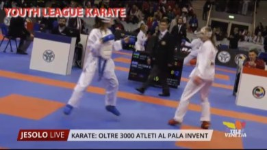 Photo of Karate Youth League: oltre 3000 atleti a Jesolo