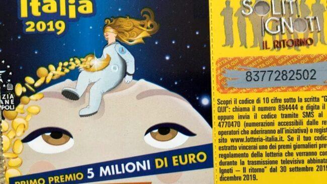 Lotteria Italia venduti a Venezia oltre 95mila biglietti