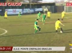 Ponte Crepaldo Eraclea: l'ultima partita del 2019