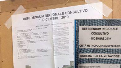 Referendum separazione di Venezia e Mestre affluenza ore 12