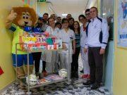 Sporting Musile: un natale speciale in pediatria a San Donà