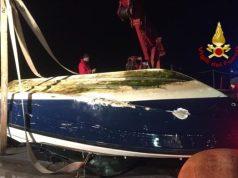 Barchino affonda nel Canale della Giudecca: salvati 5 ragazzi