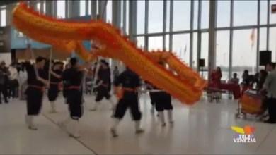 Capodanno cinese all'aeroporto Marco Polo di Venezia