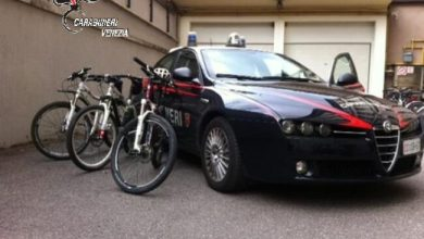 Photo of Ladri di biciclette: arrestati due giovani a Mirano