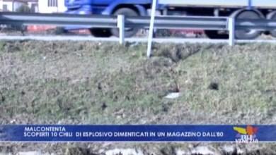 Malcontenta: dieci chili di esplosivo dimenticati in un magazzino