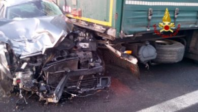 Photo of Autostrada A4, incidente tra auto e tir: 3 feriti