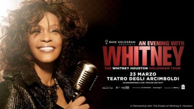 Photo of Whitney Houston, in versione ologramma, di scena a Milano