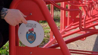 Parco di San Giuliano: installate 158 rastrelliere per biciclette - Televenezia