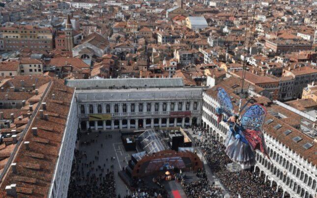 Programma del carnevale in Piazza San Marco