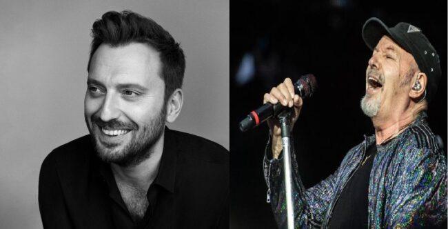"""Cesare Cremonini ha annunciato per il 28 febbraio il singolo """"Giovane stupida"""", mentre Vasco Rossi ha canticchiato un verso del brano a cui sta lavorando."""