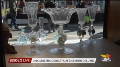 Bicchieri Veneziani dell'800: una mostra dedicata