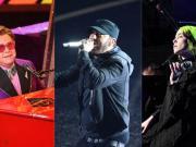 Le canzoni degli Oscar: Elton John, Eminem e Billie Eilish