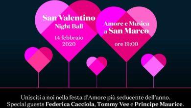 San Valentino Night Ball in Piazza San Marco: programma