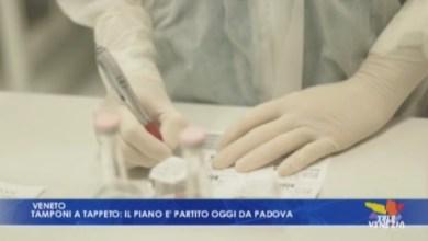 VIDEO: Tamponi a tappeto: il piano è partito oggi da Padova - Televenezia