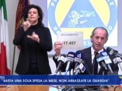 VIDEO: Coronavirus, Zaia: basta una sola spesa al mese. Bollettino 26 marzo - Televenezia