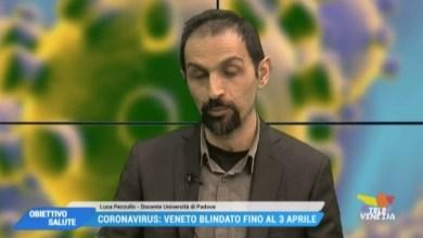 ObVIDEO: Coronavirus, ansia e panico da infezione: parla Luca Pezzullo - Televeneziaiettivo salute: parla Luca Pezzullo