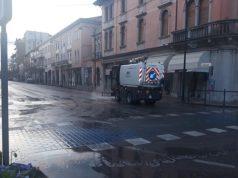 Coronavirus a San Donà: disinfestazione straordinaria delle strade