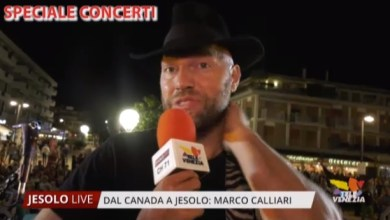 Photo of Marco Calliari dal Canada a Jesolo: il concerto
