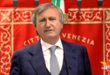 Coronavirus a Venezia, aggiornamento 21 aprile parla Brugnaro