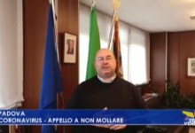 Photo of Fabio Bui: l'appello a non mollare durante il Coronavirus