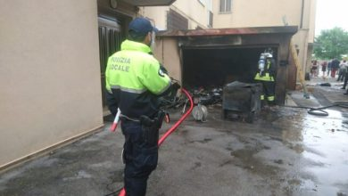 Photo of Garage in fiamme a Marghera: sgomberata la palazzina