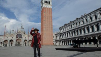 "Photo of Zucchero gira a San Marco il video di ""Amore Adesso!"""