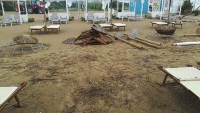 Bibione, la mareggiata distrugge la spiaggia