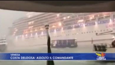 Costa Deliziosa sbandò per la bufera a Venezia