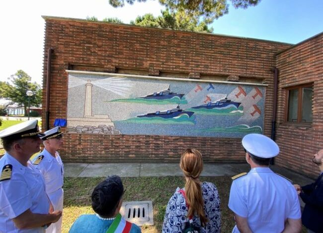Morosini: svelato il restauro di 3 mosaici alla scuola navale militare - Televenezia