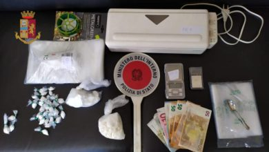 Photo of Chioggia: arrestato spacciatore con 200 grammi di cocaina