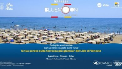 Photo of La Terrazza del Blue Moon: la serata più glamour del Lido di Venezia