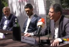 Luigi Brugnaro: presentata la coalizione e i presidenti alle Municipalità