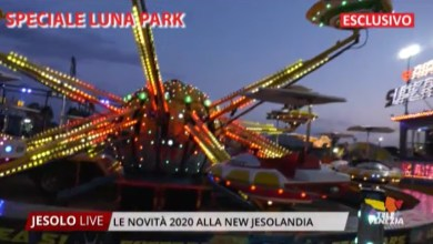Photo of New Jesolandia: le novità 2020 al luna park di Jesolo