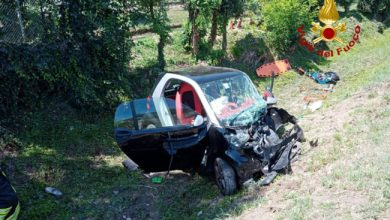Photo of Salzano: schianto tra due auto, due donne all'ospedale