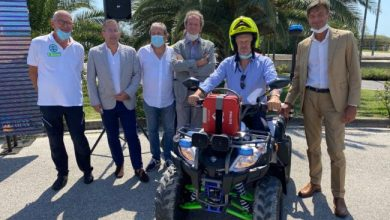 Photo of Servizi anti Covid attivati anche a Bibione con un quad