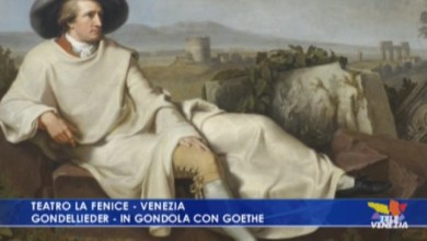 Photo of Gondellieder – in gondola con Goethe alla Fenice di Venezia