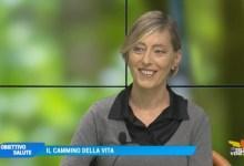Sara Valdo e la disciplina del nordic walking