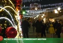 Natale di Luce per i commercianti mestrini