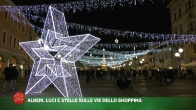 VIDEO: Natale a Mestre: alberi, luci e stelle sulle vie dello shopping - Televenezia