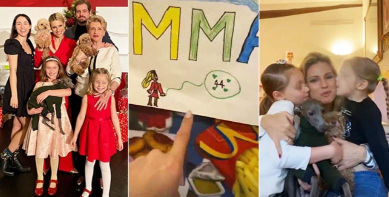 Michelle Hunziker compie 44 anni: l'affetto della famiglia