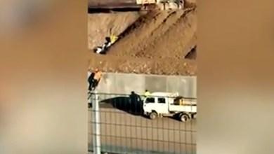 Sopralluogo nel cantiere di Pedemontana per la notizia di rifiuti sotterrati