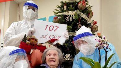 Caorle: nonna Linda sconfigge il Covid a 107 anni - Televenezia