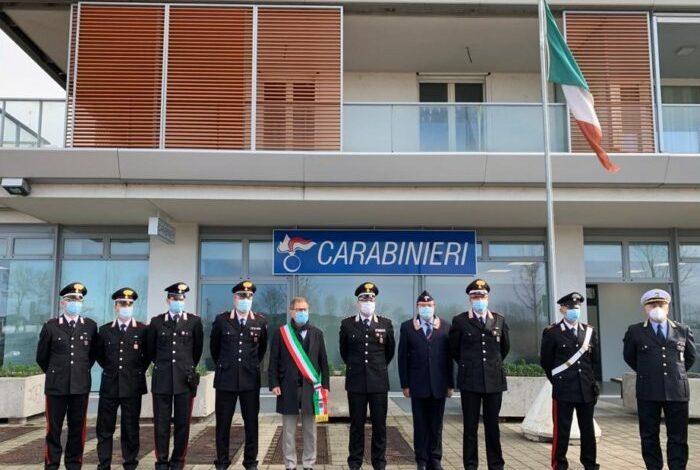 Jesolo: le nuove chiavi della Stazione dei Carabinieri