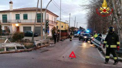 Incidente a Santa Maria di Sala: due feriti