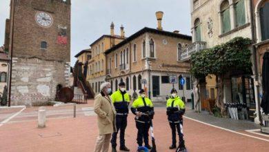 Polizia locale in monopattino per controllare il centro di Mestre