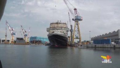 Le grandi navi attraccheranno temporaneamente a Marghera