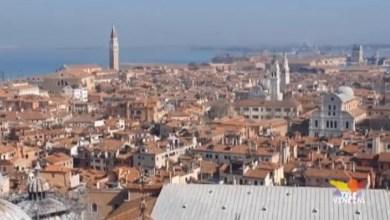 """VIDEO: Campanile di San Marco riapre: si torna a salire sul """"paron de casa"""" - Televenezia"""