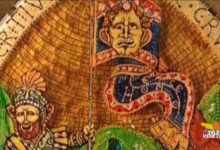Via Crucis in vetro di Murano: la nona stazione