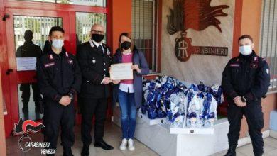 donazione uova pasqua carabinieri mira