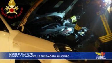 VIDEO: Caposile, frontale devastante: 23enne morto sul colpo - Televenezia